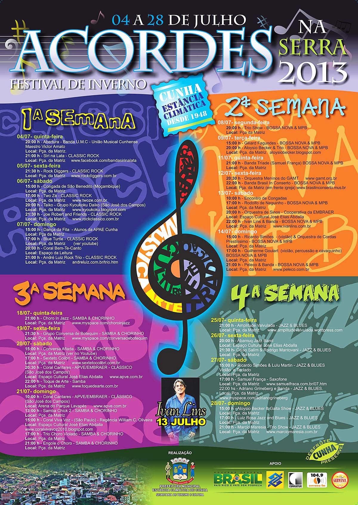 Imagem cartaz Acordes na Serra