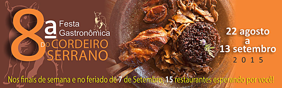 8ª Festa Gastronômica do Cordeiro Serrano